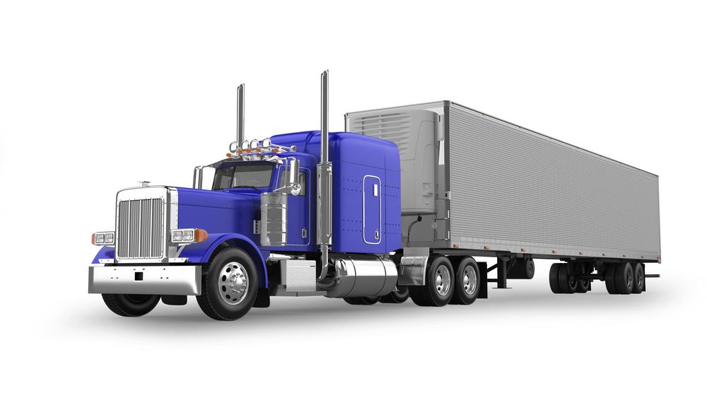 American Truck Illustration