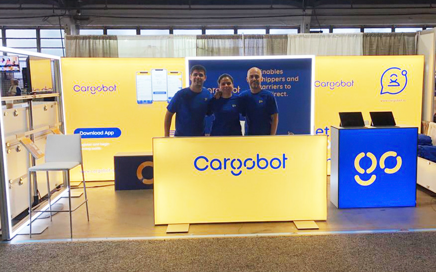 Cargobot booth