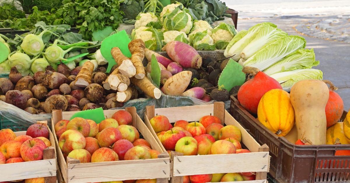 Shipping produce