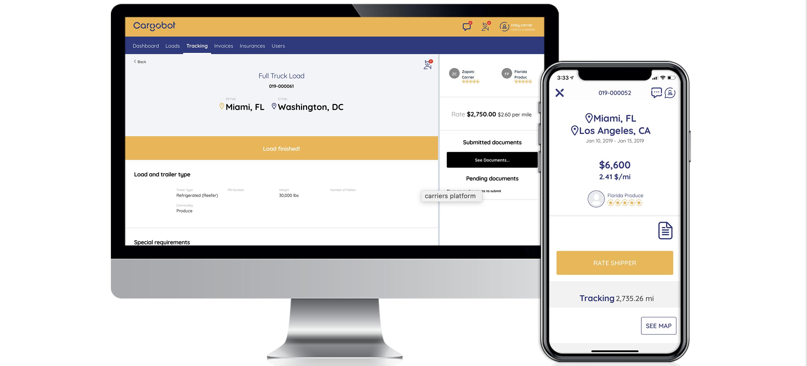 Cargobot Digital Platform