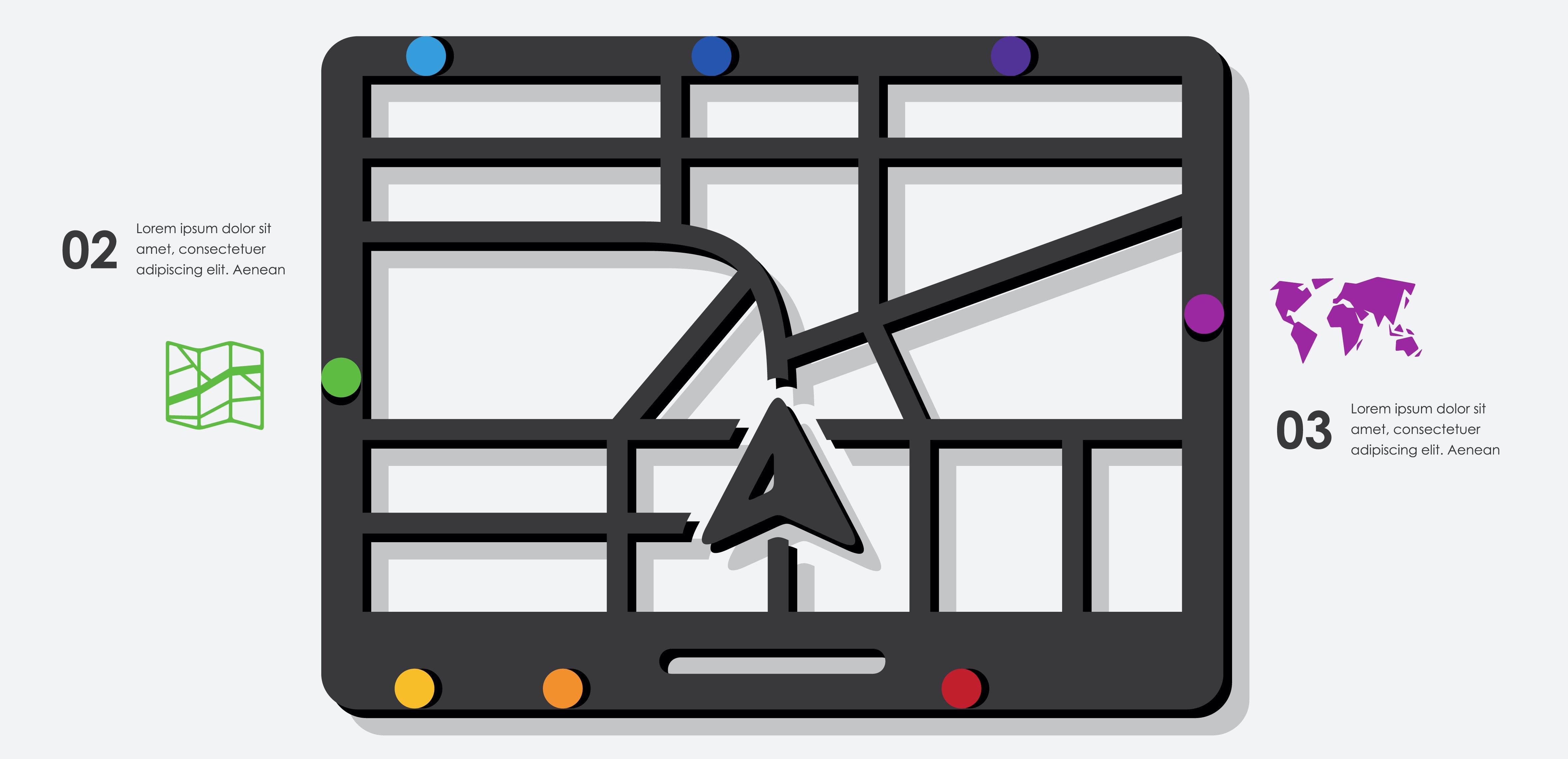 Illustration showing real-time data alerts