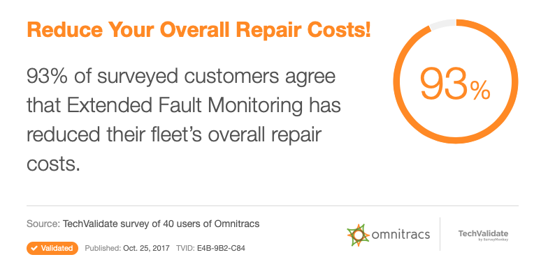 Omnitracs Repair Costs Data Point