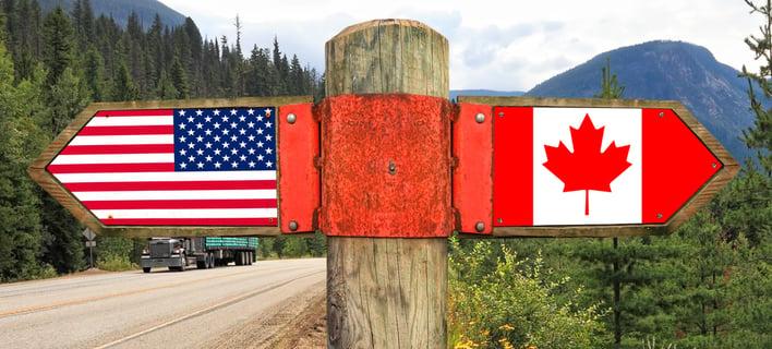 US Canadian Border