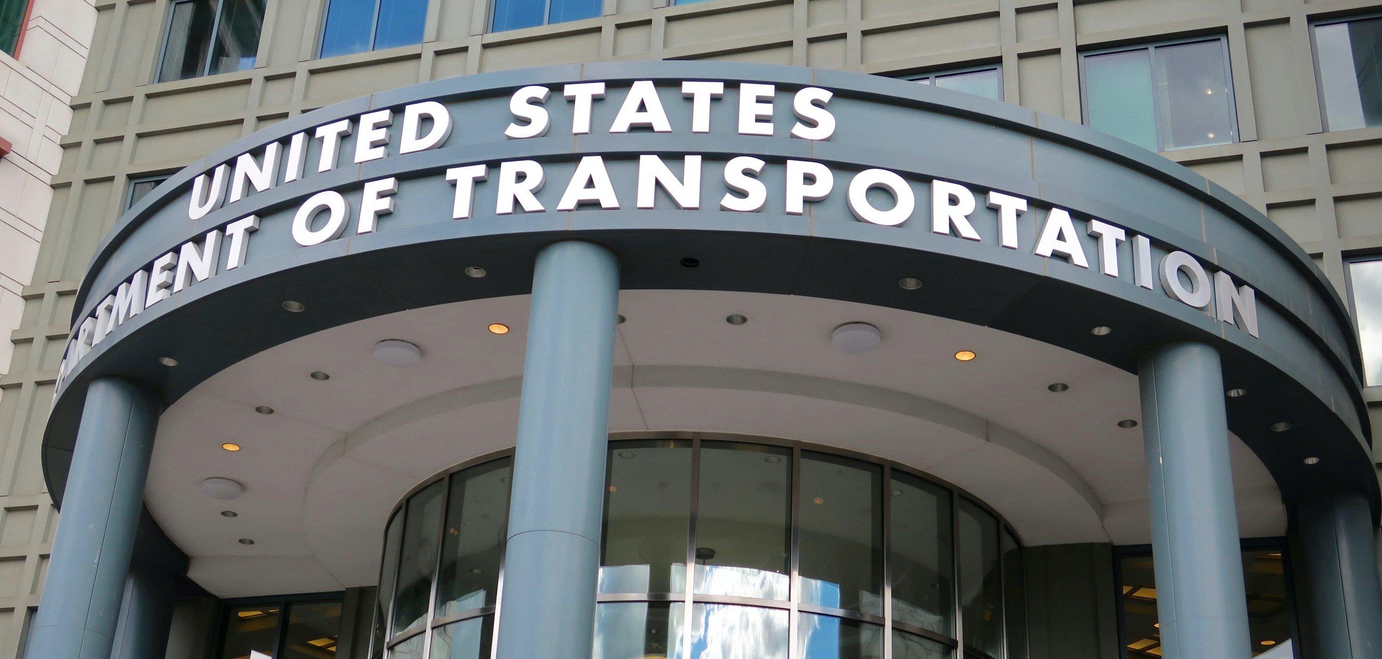 US Dept of Transportation Main Office Front