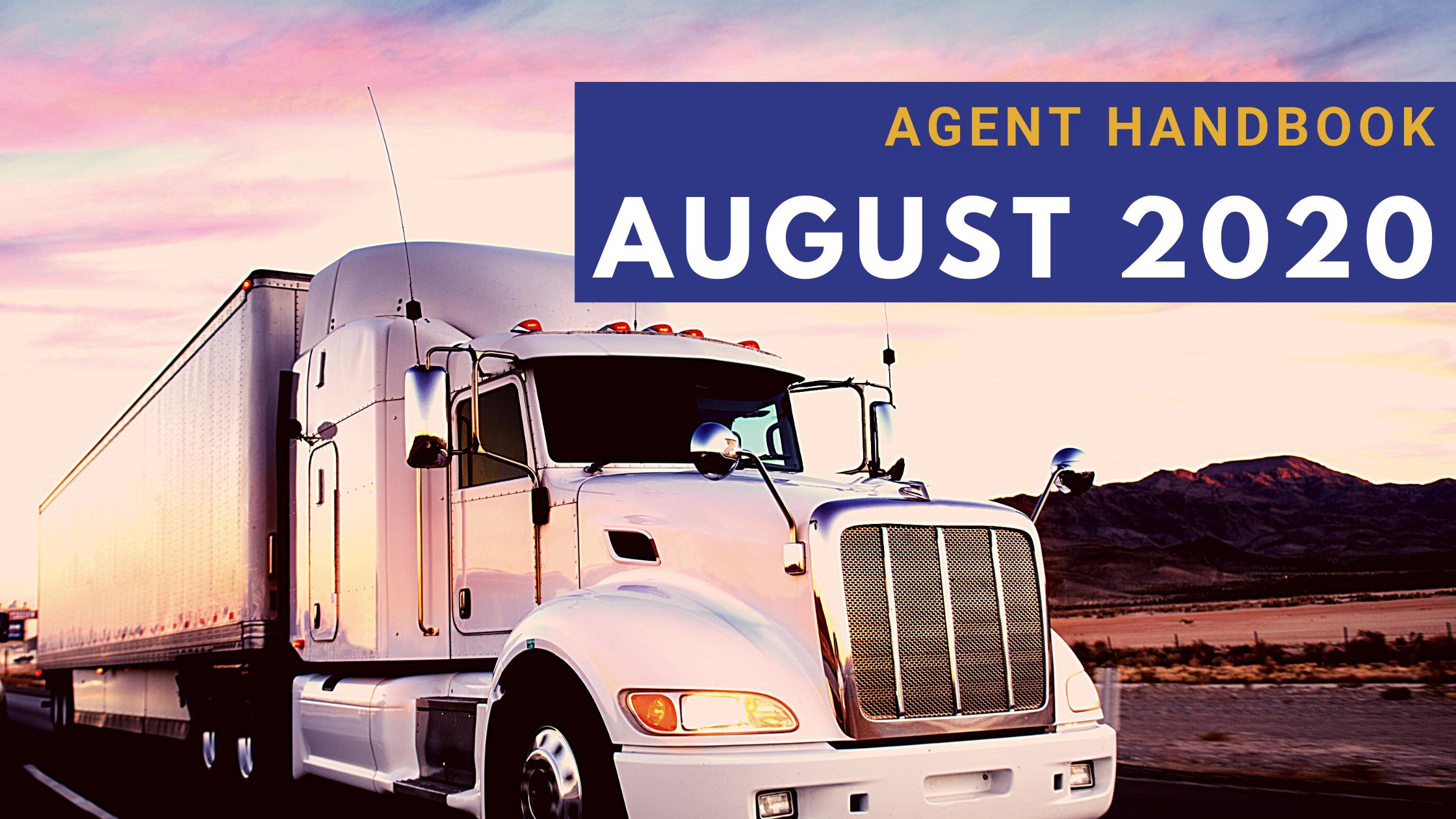 Agent Handbook August 2020