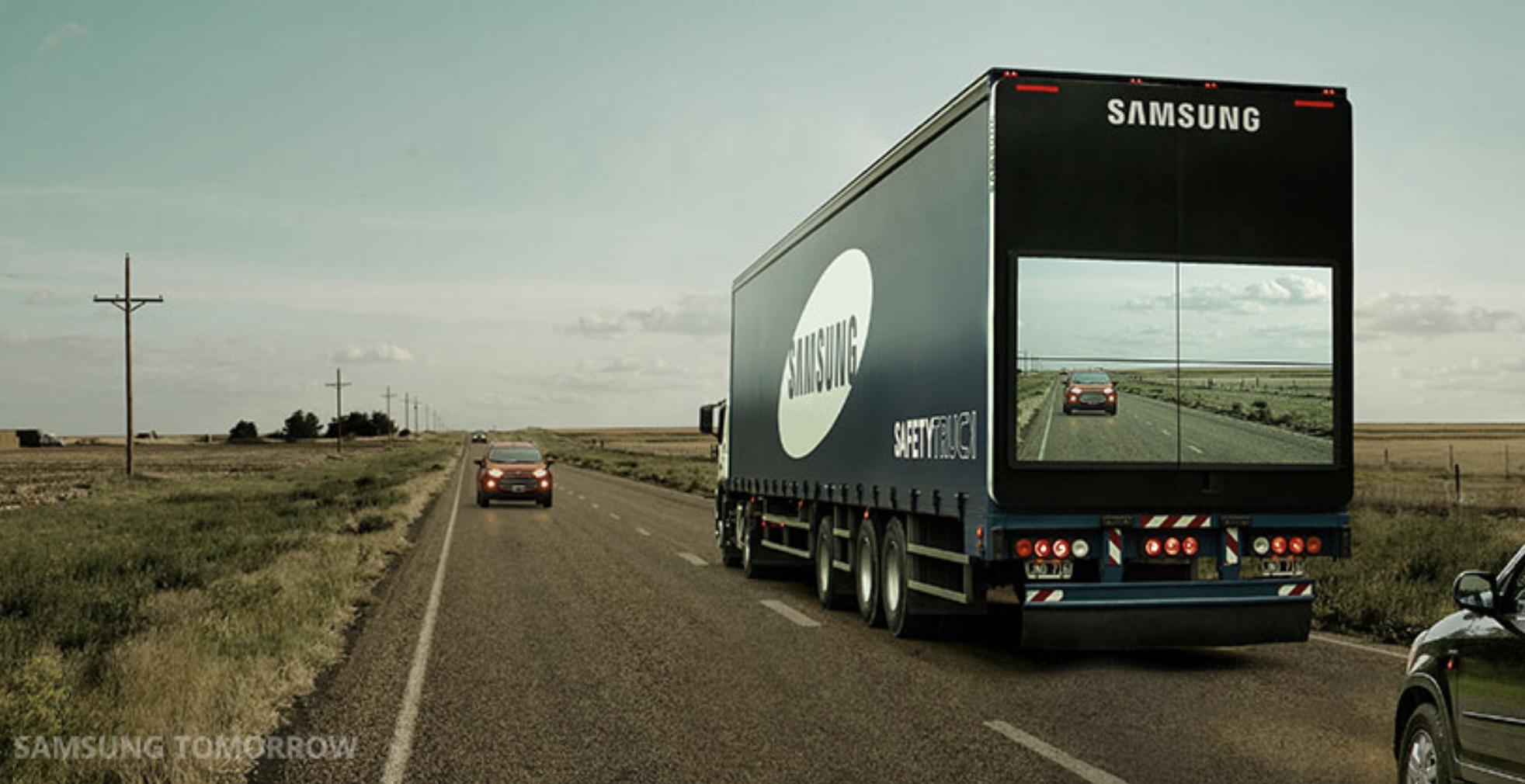 Samsung Safety Truck Alt Rear View
